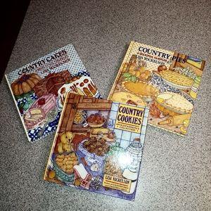 3 Country Cookbooks